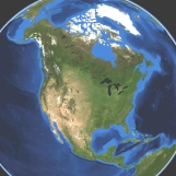 Earth half face multiple