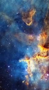 Cassiopeia nebula face & form multiple light flip