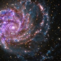 Ursa galaxy face multiple flip rotate