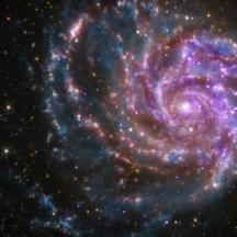 Ursa galaxy face multiple rotate