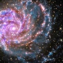 Ursa galaxy face multiple light flip & rotate