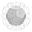 graphic of dodecahedron
