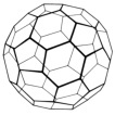 graphic of angle with truncated icosahedron form