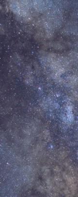 Milky Way galaxy face & form multiple flip 4