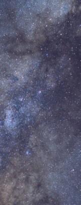 Milky Way galaxy face & form multiple 4