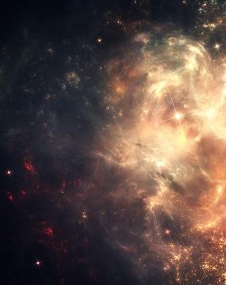 nebula - star cluster - face 7 form multiple 2 flip