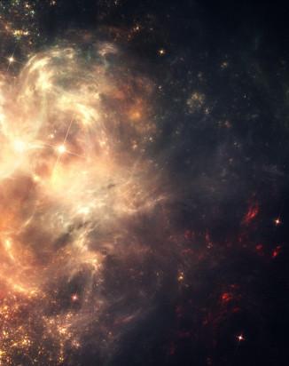 nebula - star cluster - face & form multiple 2