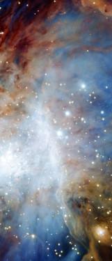 Orion nebula face & form multiple 3 light flip & rotate
