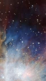Orion nebula face & form multiple 2 flip