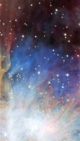 Orion nebula face & form multiple 2 light flip