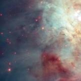 Orion nebula face & form multiple flip