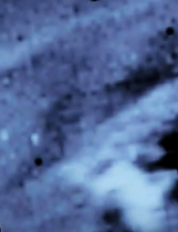 """(colorized) Sun """"prominence"""" face multiple light"""